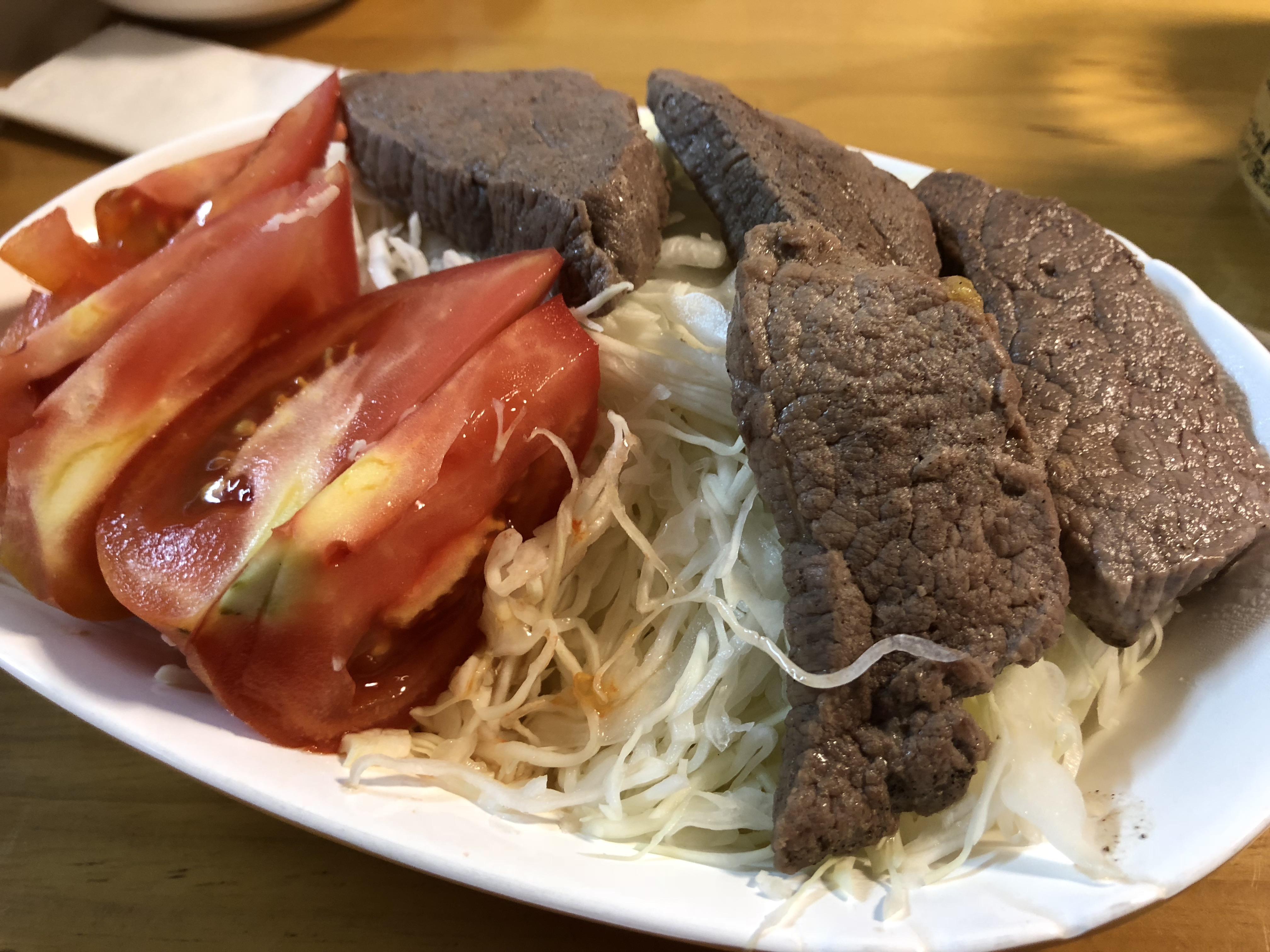 【7日目】牛肉赤身とキャベツ(バス釣り)